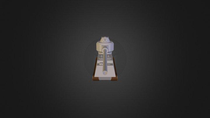 Weapon-417 3D Model