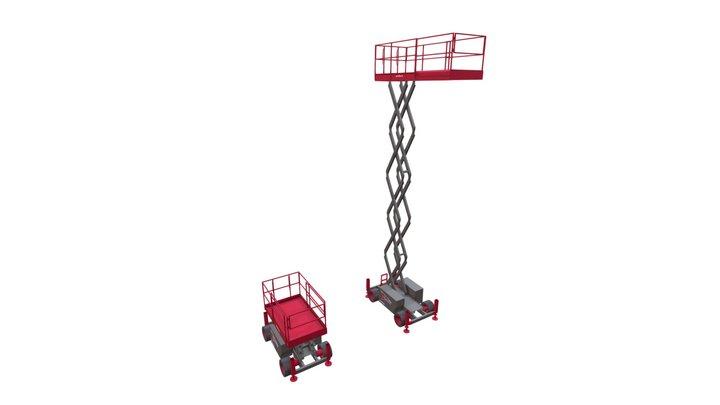 Speedy Hire - SkyJack Access Platform (SJ6832) 3D Model
