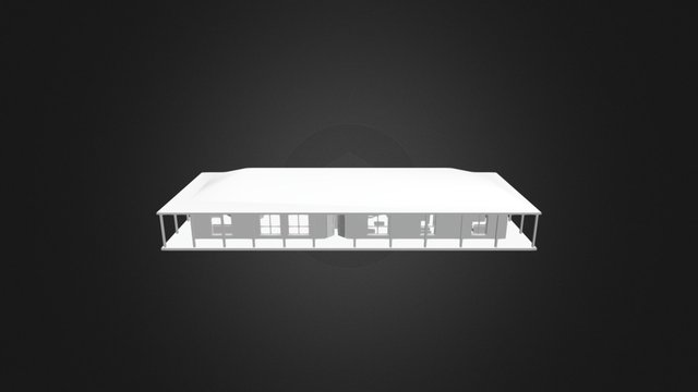 Roberts - Tasman - with Roof 3D Model