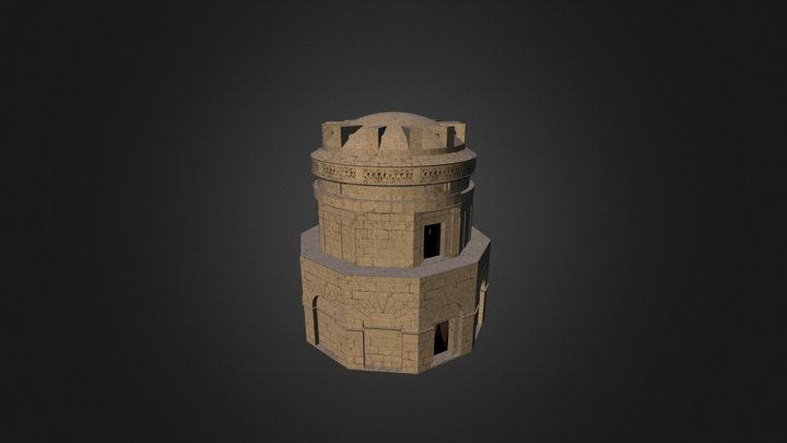 Mausoleo di Teodorico 3D Model