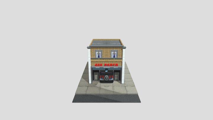 Camera Store 3D Model