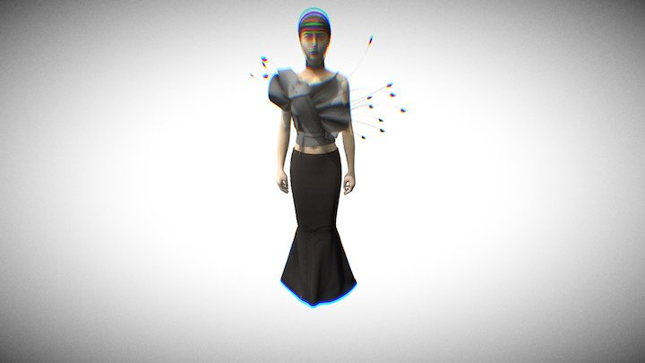 Maison Margiela Artisanal - SS17 Show | Look 16 3D Model