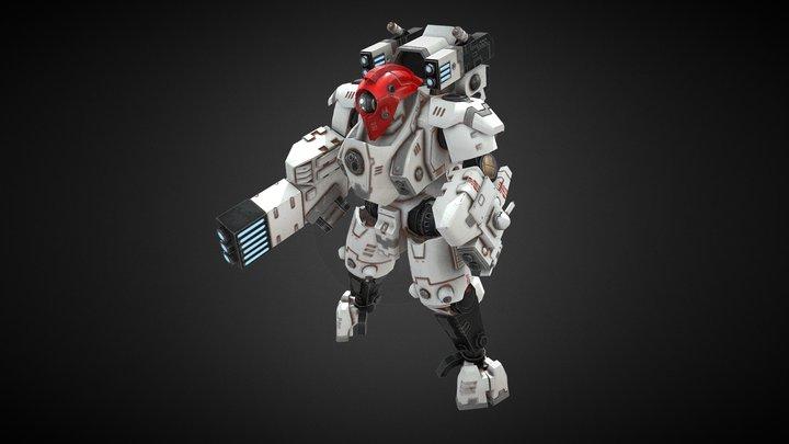 XV95 Ghostkeel Battlesuit 3D Model