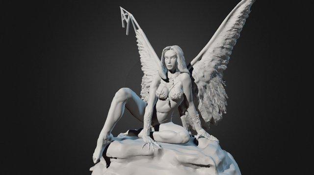 3D Illustration - Boris Vallejo 3D Model