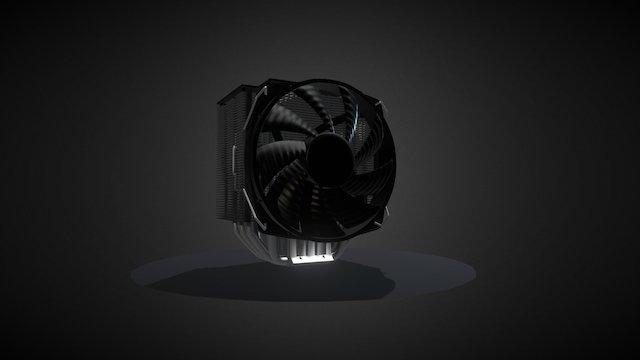 CPU cooler / Towercooler 3D Model
