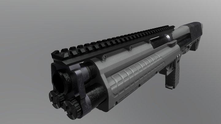 Kel-tech KSG 3D Model