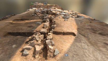 Ancient watercourse 3D Model