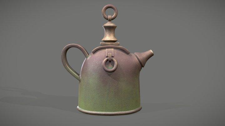 Old Teapot 3D Model