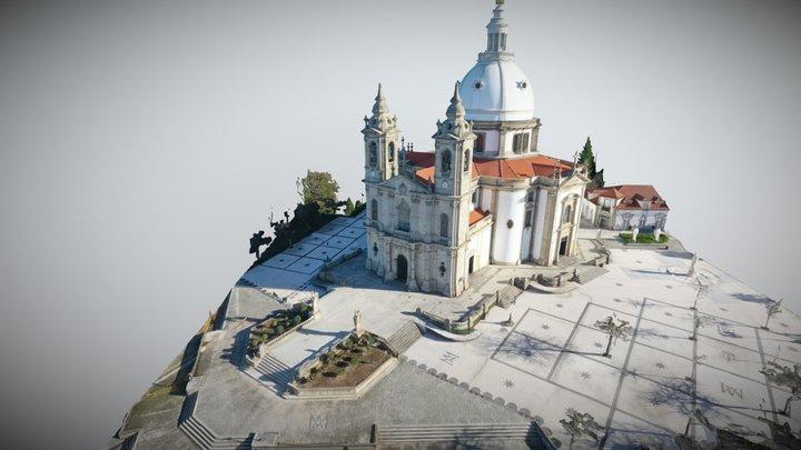 Santuário do Sameiro 3D Model