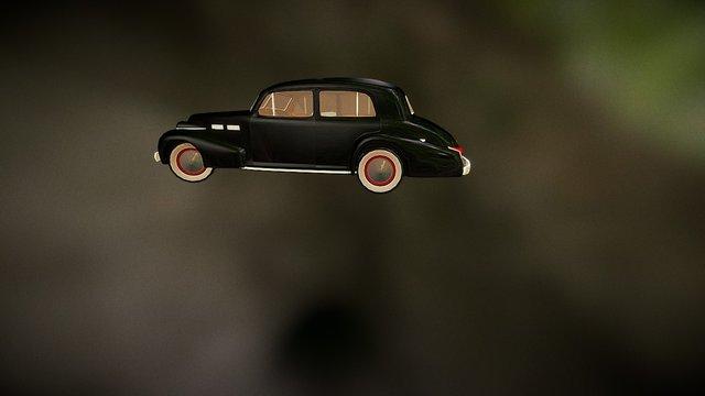 1940 Cadillac Sixty Special 3D Model
