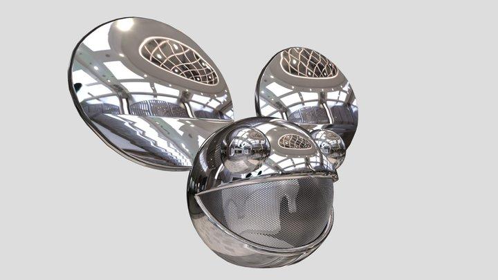 New Deadmau5 Head 3D Model