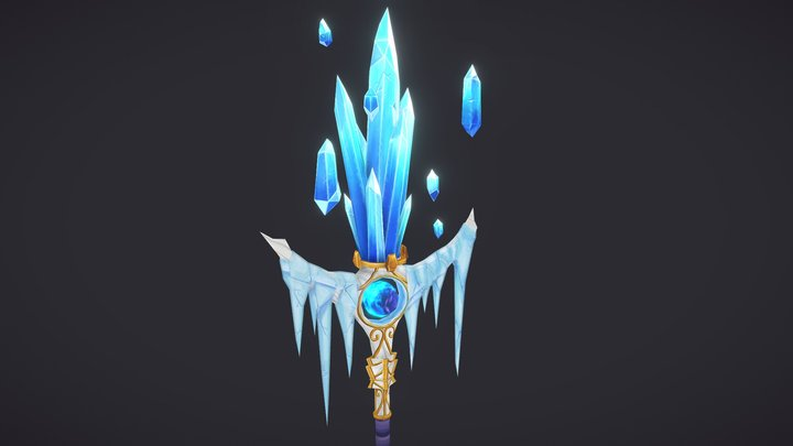 Mage Staff - World of Warcraft 3D Model