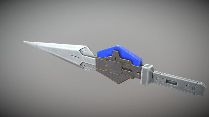Exia GN Small Sword 3D Model