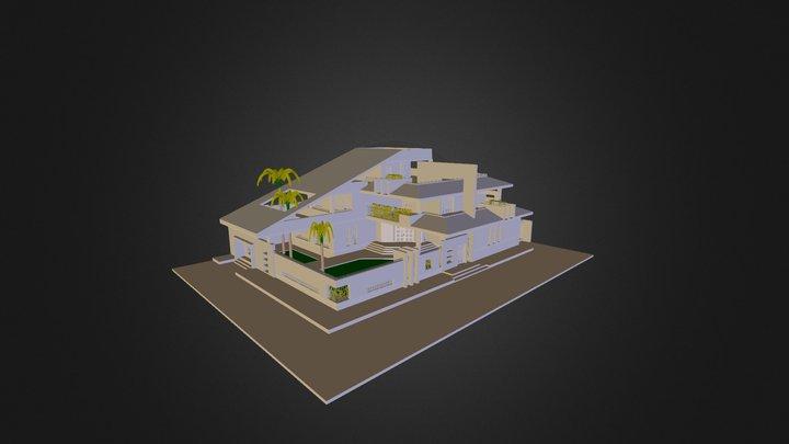PRIVATE VILLA 3D Model