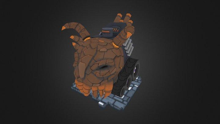 Juggernaut Tank 3D Model