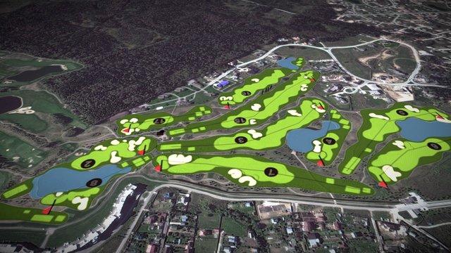 Golf-2 3D Model