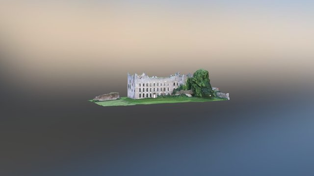 Louth Hall, Tallanstown, Co. Louth. 3D Model