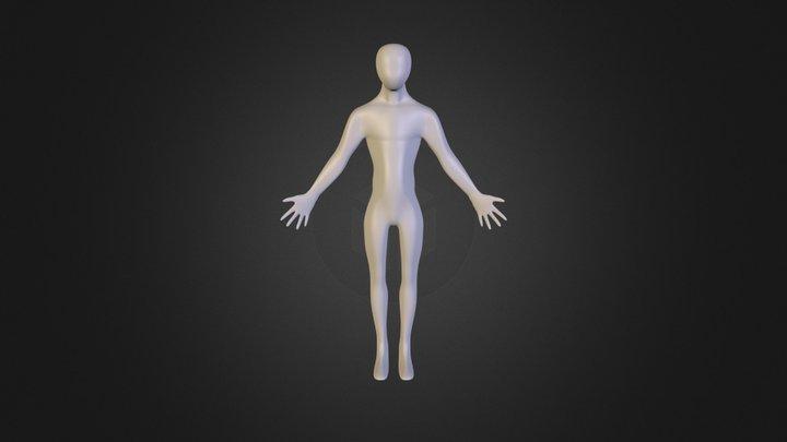 Basic Body Mesh 3D Model