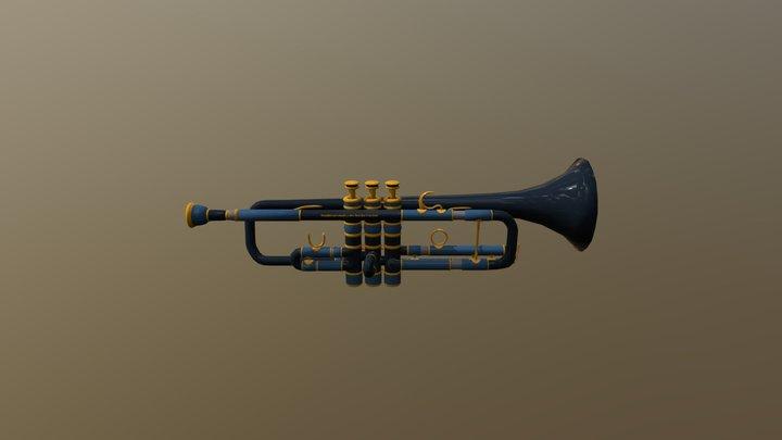 TP1 - Instrument - Trompette 3D Model
