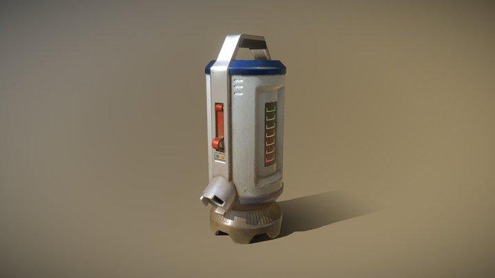 Energy Tank 3D Model