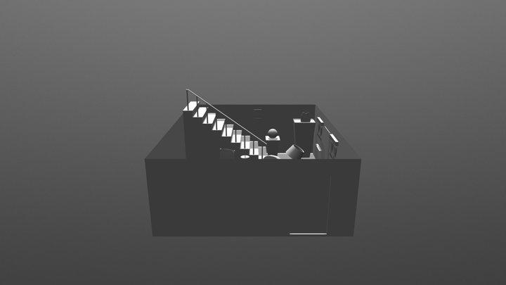 Coraje Hause 3D Model