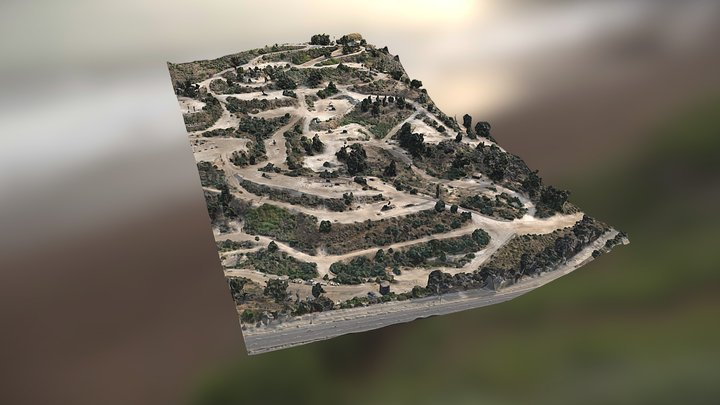 IOF Photogrammetry Survey July 2020 3D Model