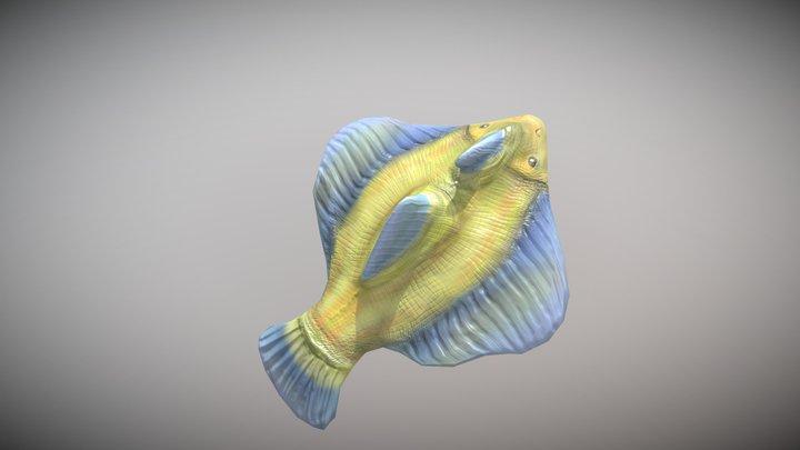 Yellow fishy 3D Model