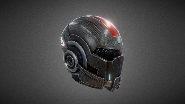 N7-Helmet   Mass Effect 3D Model