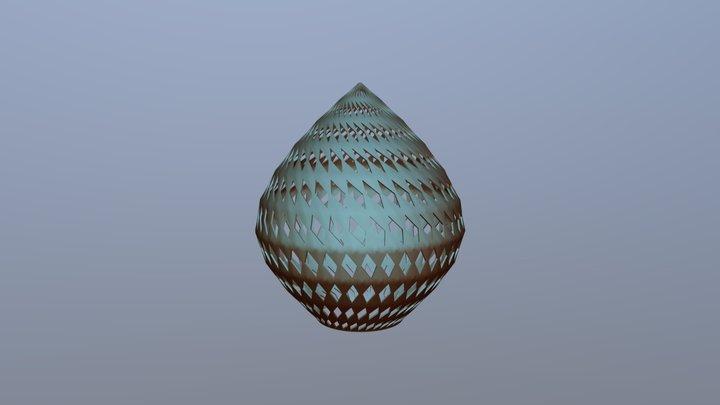 LAMPARA ROMBO 2 3D Model