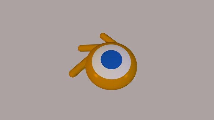 Blender Logo 3D Model