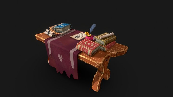 Pirate Style Arrange 1 3D Model