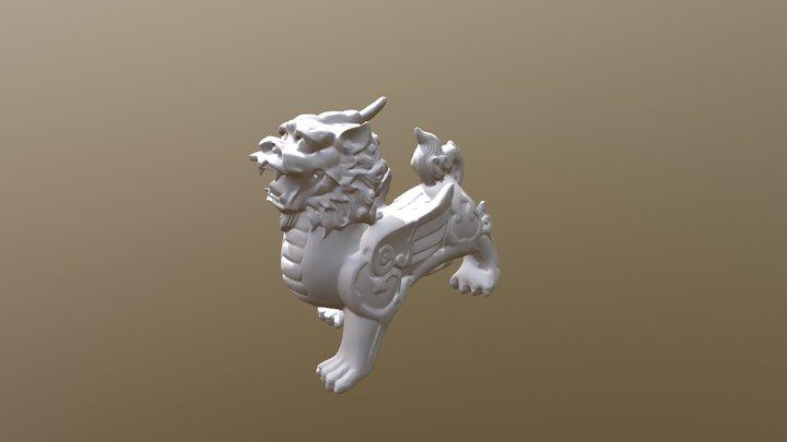 【3D掃描】貔貅 3D Model