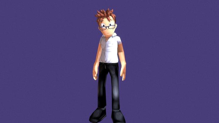 Albert 3D Model