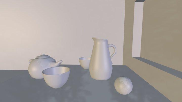 Nature Morte / still life 3D Model
