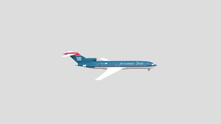 Boeing 727-227 3D Model