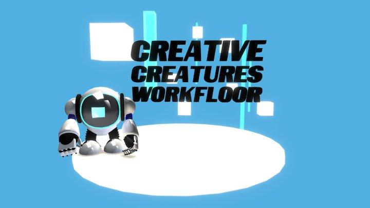 CCWorkfloor logo 1 WIP 3D Model