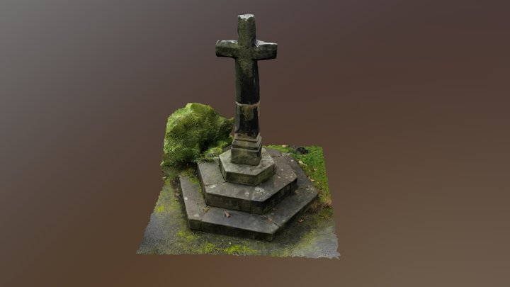 Lydiate Churchyard Cross 3D Model