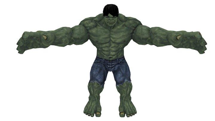 Hulk v2 3D Model