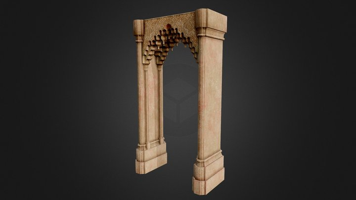 Muqarnas - Archway 3D Model