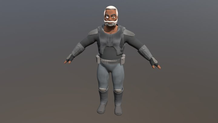 Commander Wolffe - Star Wars Rebels 3D Model