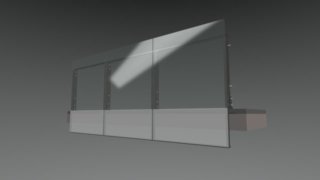 Balustrade Option 2 3D Model