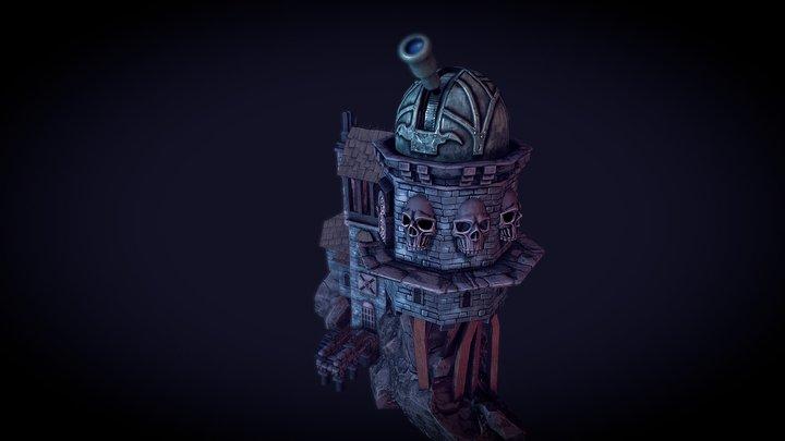 Warhammer Enviroment 3D Model