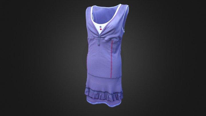 Dress 02. Corrected 3D Model