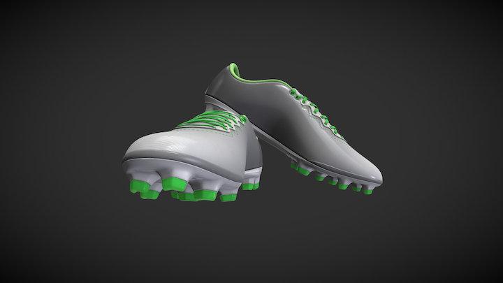 Football Boots 3D Model