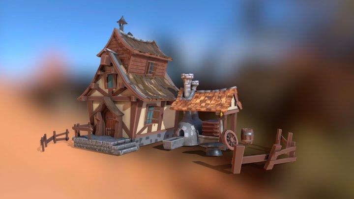 Ironsmith's House 3D Model