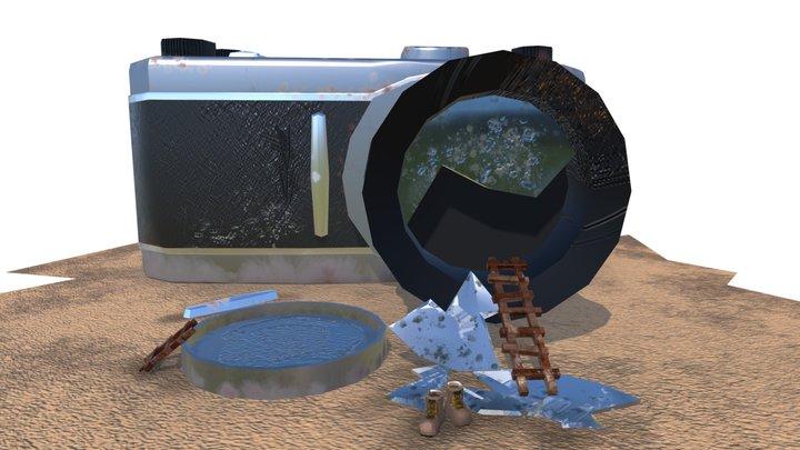 Camera Home 3D Model