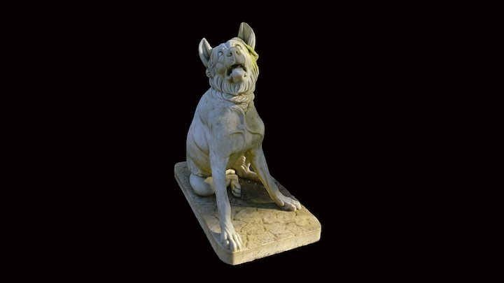 The hound of Alcibiades 3D Model