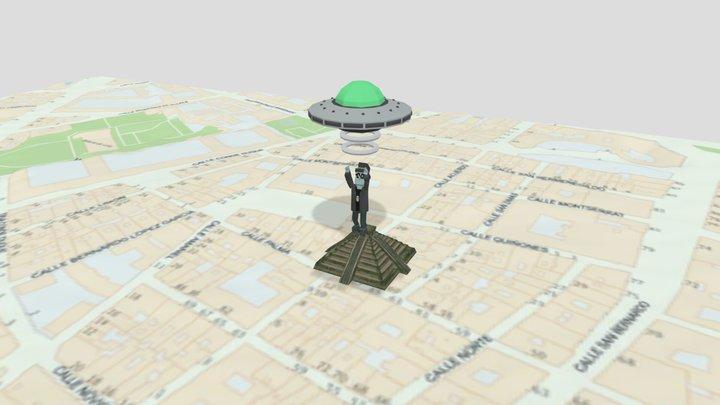 Piramides Murcianas 3D Model