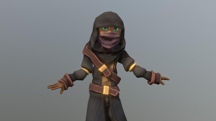 Thieves Guild Merchant 3D Model