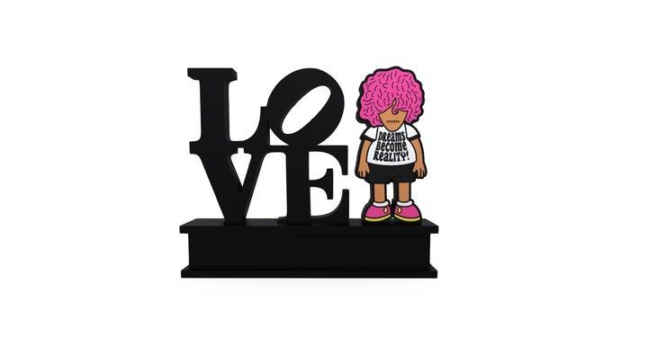 KiD x Love 3D Model